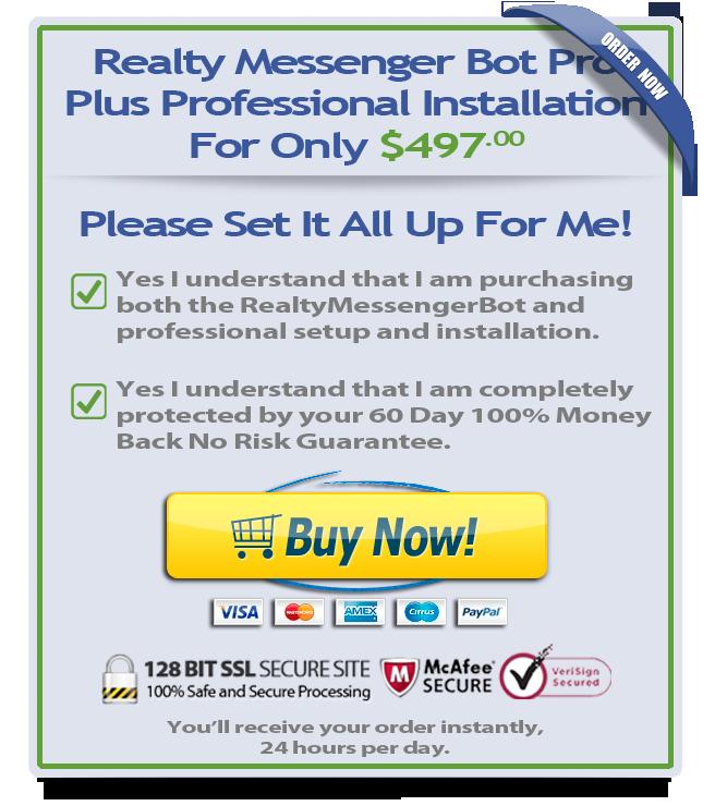 Buy Realty Messenger Bot